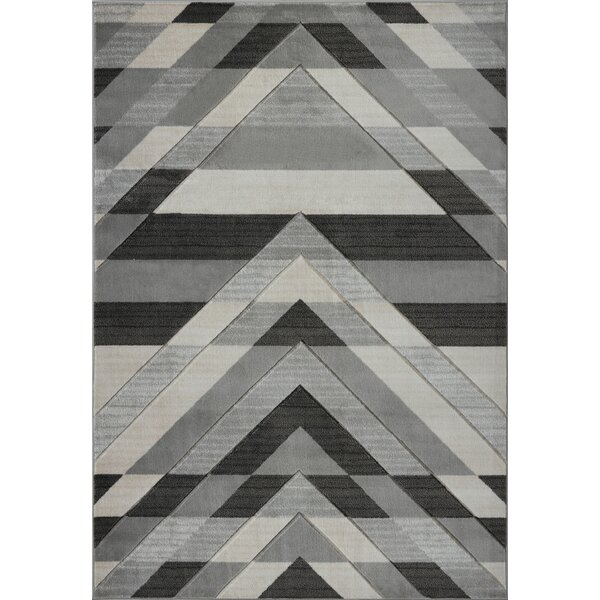 Ramage Black/Gray Area Rug by Orren Ellis