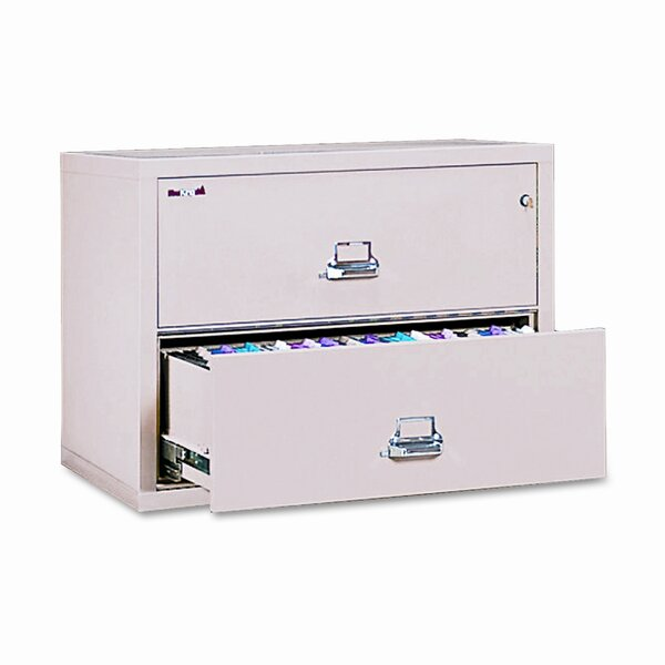 Fireproof Insulated 2-Drawer Lateral File by FireKing
