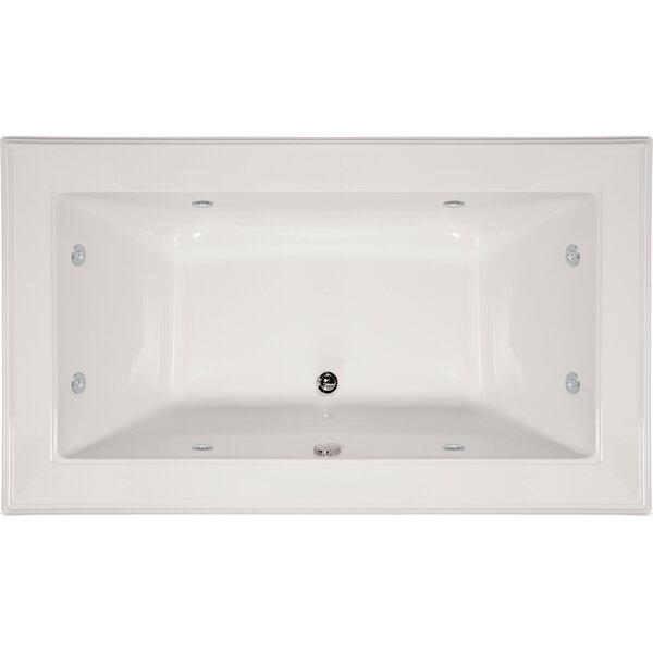 Designer Angel 72 x 42 Whirlpool Bathtub by Hydro Systems