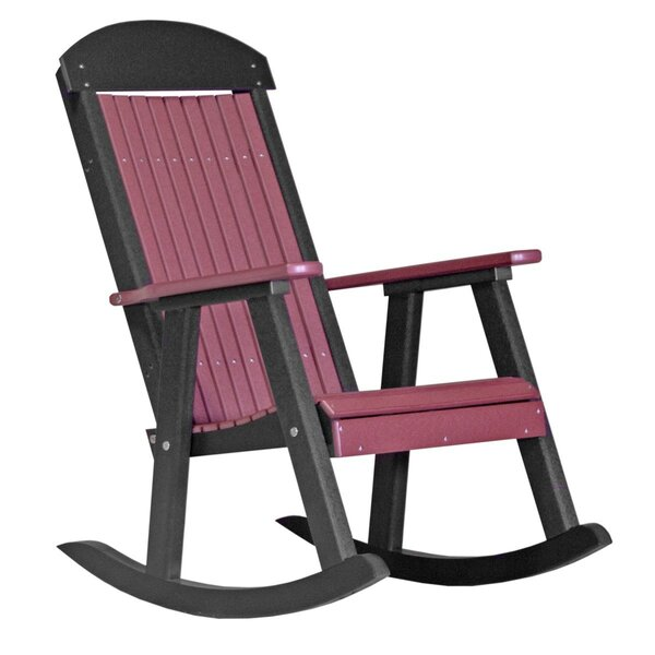 Tarik Porch Rocking Chair by Ebern Designs