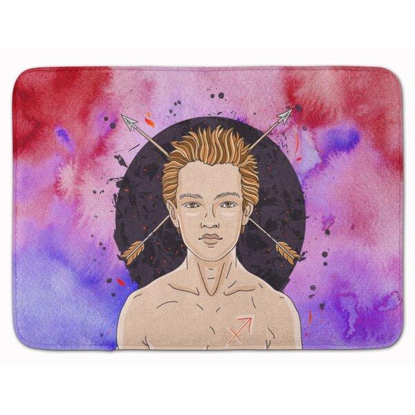 Sagittarius Zodiac Sign Memory Foam Bath Rug