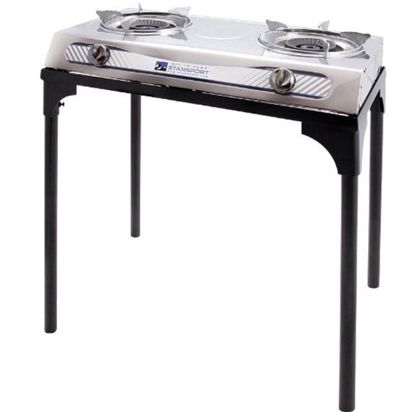 2-Burner Outdoor Stove with Stand by Stansport