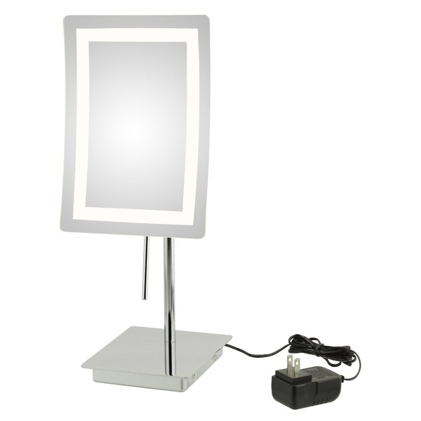 Ellizabeth Single Sided LED Makeup/Shaving Mirror by Orren Ellis