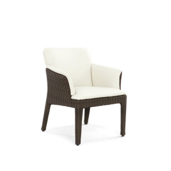 Segal Patio Dining Chair with Cushion by Brayden Studio