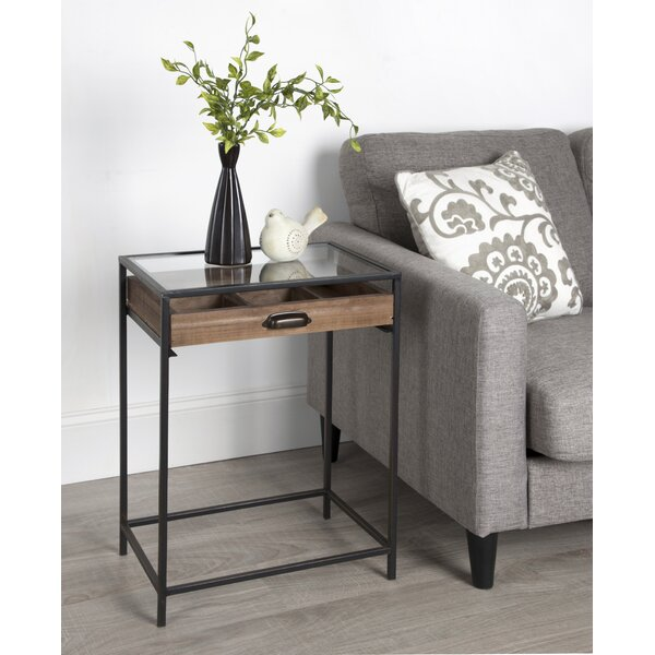 Amily End Table by Gracie Oaks