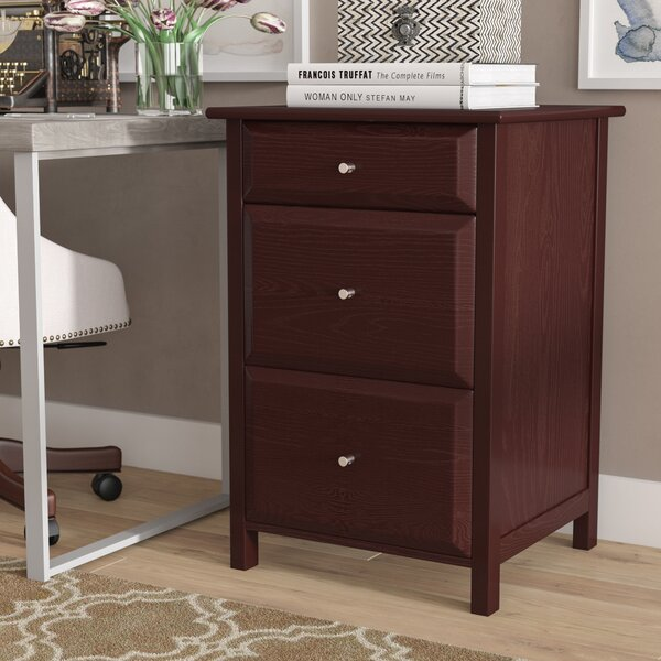 Gifford 3 Drawer File Cabinet by Three Posts