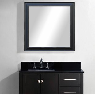 Affordable Willa U.S. Made with Blonde Scratches Bathroom/Vanity Mirror By Winston Porter