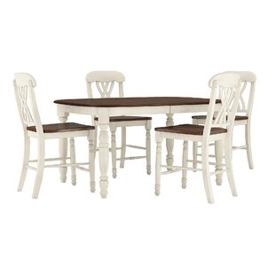 Heidi 5 Piece Pub Table Set By Alcott Hill