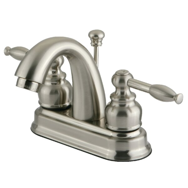 Knight Centerset Bathroom Faucet with Drain Assembly