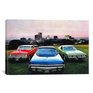 Cars and Motorcycles Dodge Monaco, Charger, Dart Photographic Print on Canvas by iCanvas