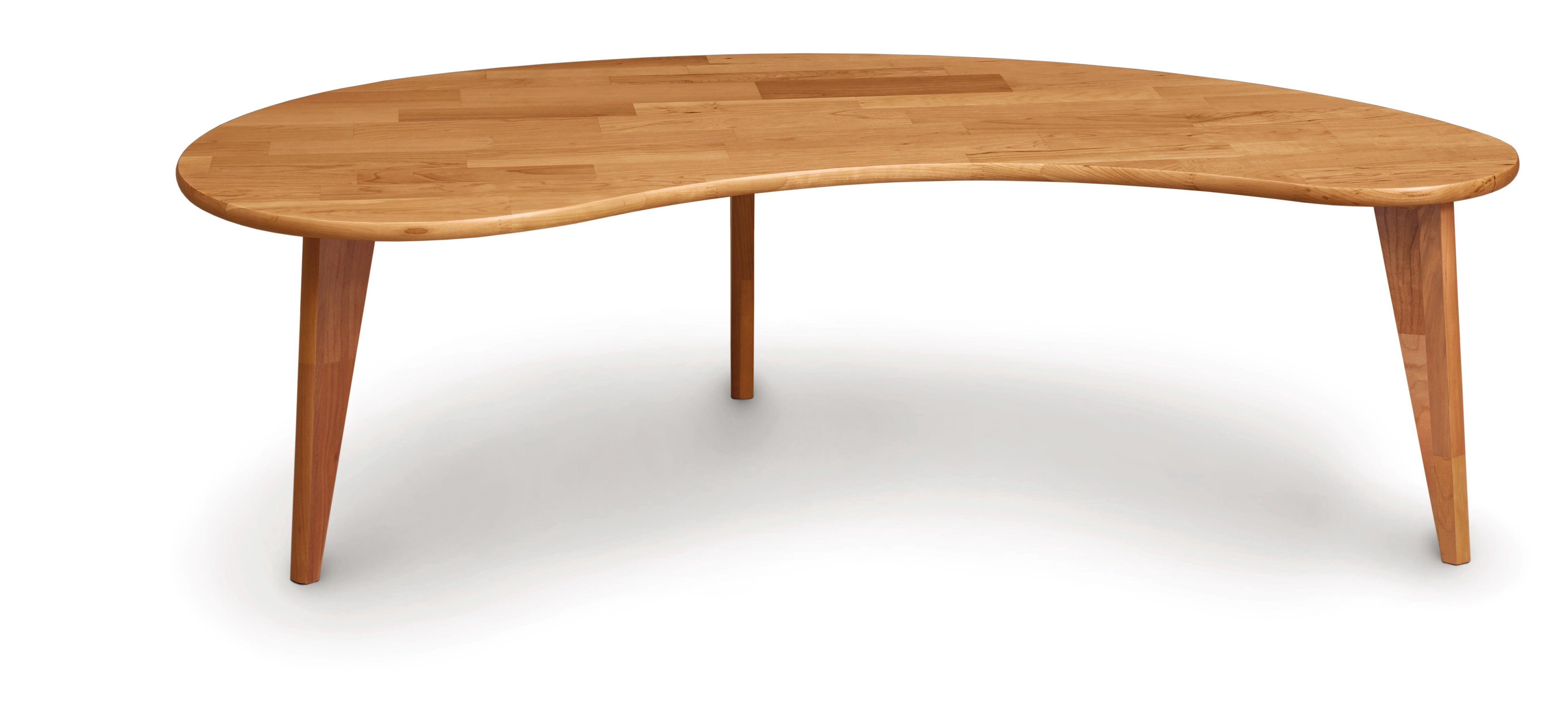 Copeland furniture essentials kidney shaped coffee table wayfair