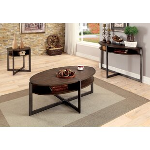 Wayne 3 Piece Coffee Table Set by Red Barrel Studio