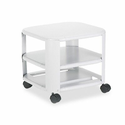 Three-Shelf Mobile Printer Stand by MEAD HATCHER