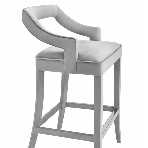Amabilia 26 Bar Stool by Everly Quinn