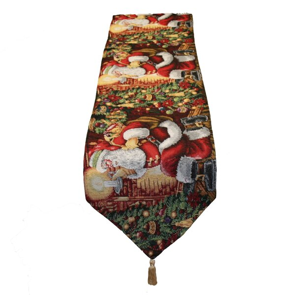 Santa Claus Table Runner by The Holiday Aisle