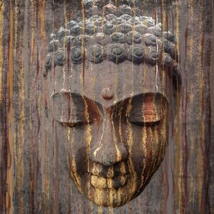 'Buddha' by Irena Orlov Painting Print on Wrapped Canvas by Marmont Hill