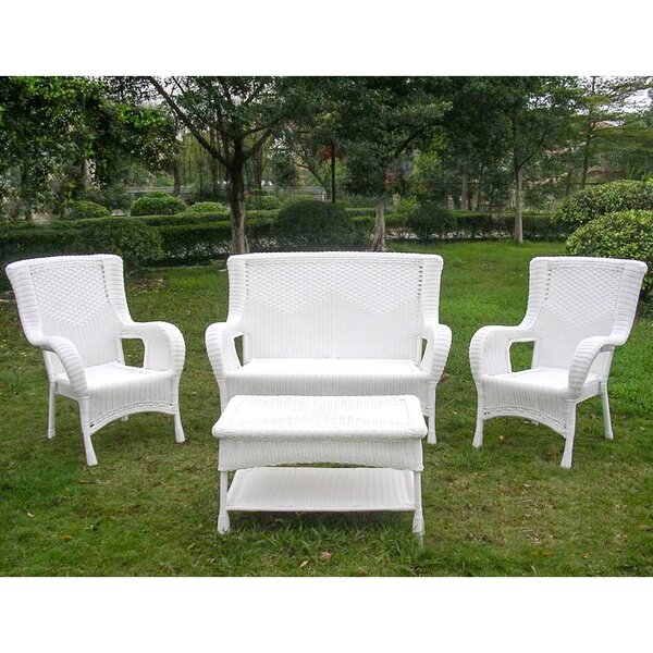 Dominic 4 Piece Sofa Set by August Grove