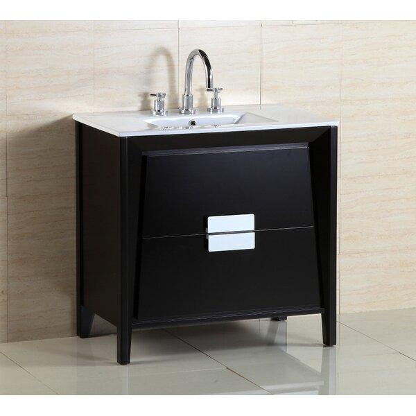 36 Single Sink Vanity Set by Bellaterra Home36 Single Sink Vanity Set by Bellaterra Home