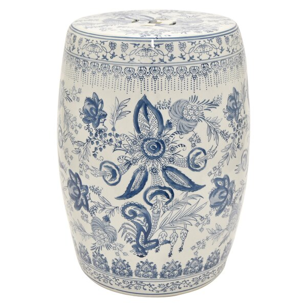 Carlo Ceramic Garden Stool by Charlton Home