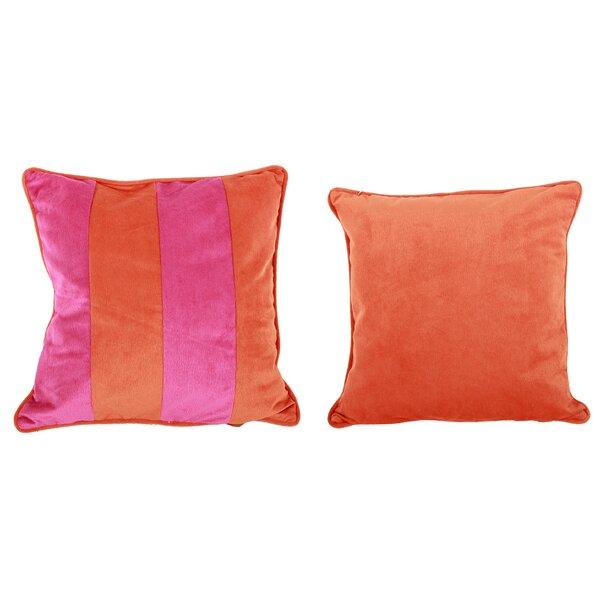 Narmada Throw Pillow (Set of 2) by Bungalow Rose