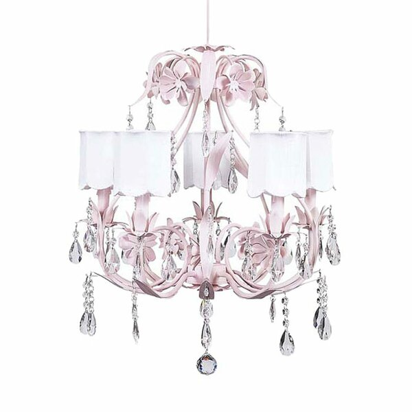 Ballroom 5-Light Shaded Chandelier by Jubilee Collection