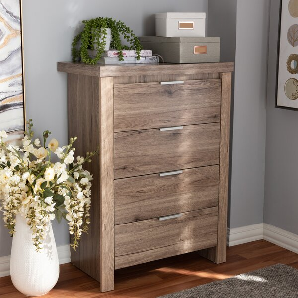 Union Rustic Tellier 4 Drawer Chest & Reviews by Union Rustic