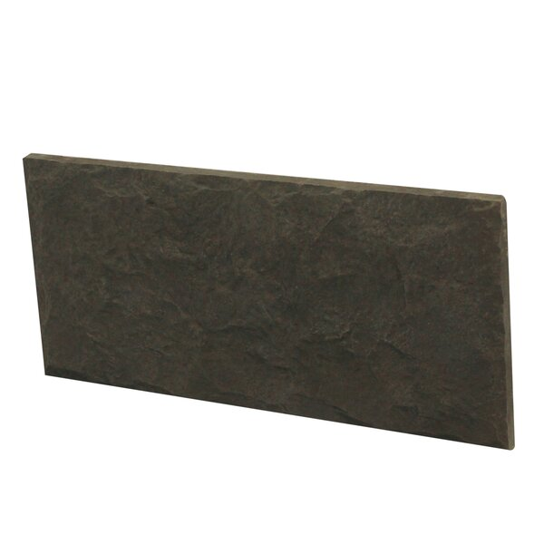 Euroc 11 x 5 Engineered Stone Splitface in Charcoal (Set of 10) by Stone Design