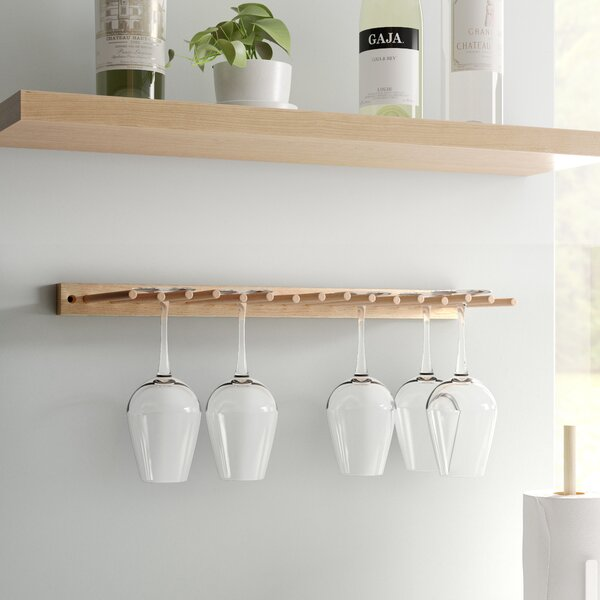 Emilia Wall Mounted Wine Glass Rack by Project Tidy Project Tidy