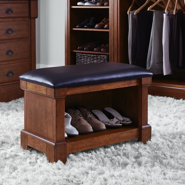 Cargile Wood Storage Bench by Darby Home Co