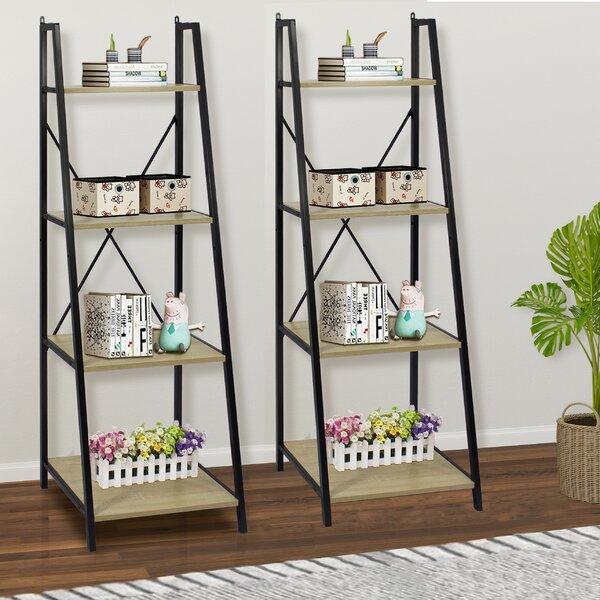 Victorine Ladder Bookcase (Set Of 2) By Gracie Oaks