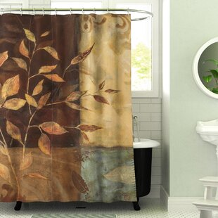 Check Prices Amie Printed Shower Curtain By Fleur De Lis Living