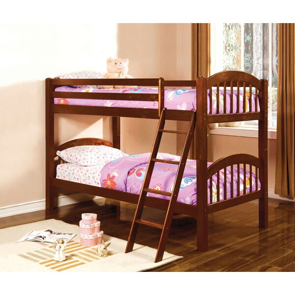 Robbie Twin over Twin Bunk Bed by Harriet Bee
