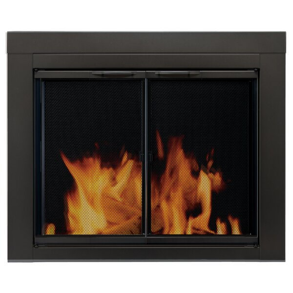 Alpine Cabinet Style Steel Fireplace Doors By Pleasant Hearth