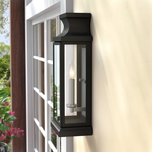 Folkeste 1-Light Outdoor Flush mount by Three Posts