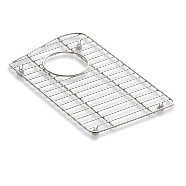 Lawnfield Stainless Steel Sink Rack, 15-13/32 x 16-1/2, for Right-Hand Bowl by Kohler