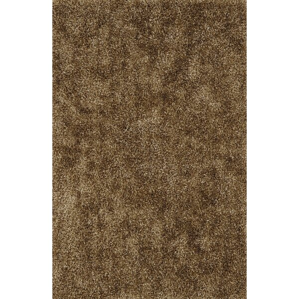 Nan Shag Brown Area Rug by Ivy Bronx