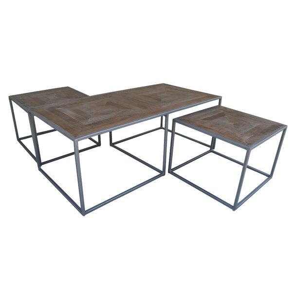 Caryn Nest 3 Piece Coffee Table Set By Ivy Bronx