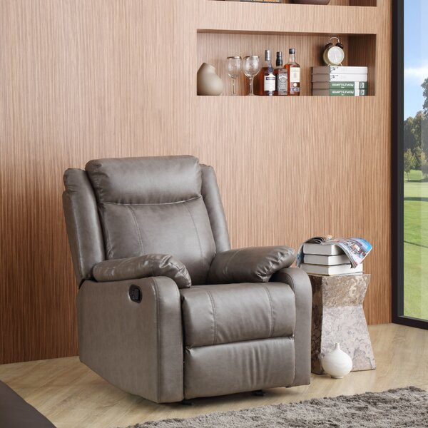 Roudebush Manual Rocker Recliner by Latitude Run
