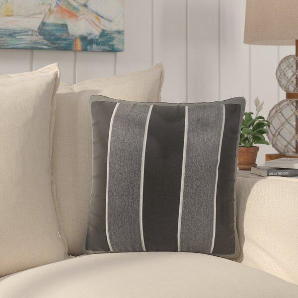 Bridgewood Indoor/Outdoor Sunbrella Throw Pillow (Set of 2) by Beachcrest Home