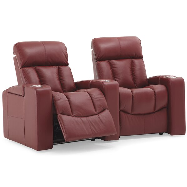 Orlando Curved Home Theater Loveseat (Row Of 2) By Palliser Furniture
