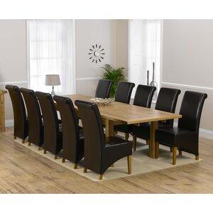 Essgruppe Ritual mit 10 Stühlen von Home Etc