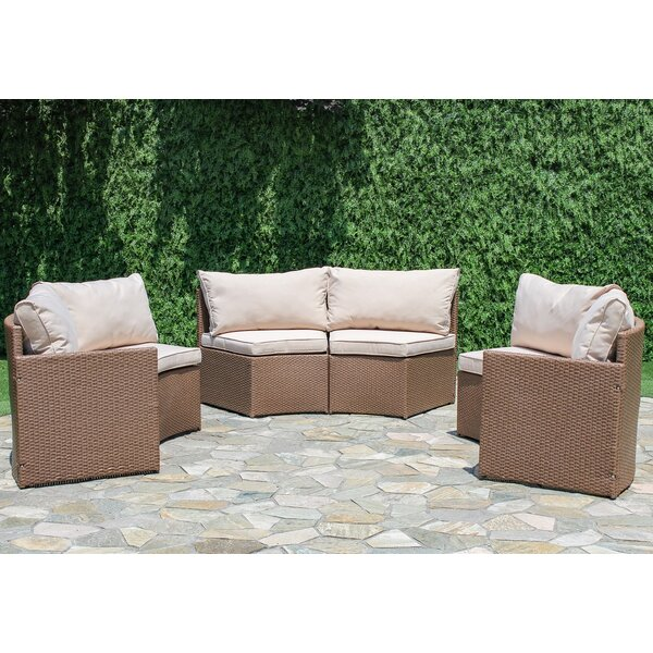 Sturbridge Curved Sectional with Cushions by Bay I