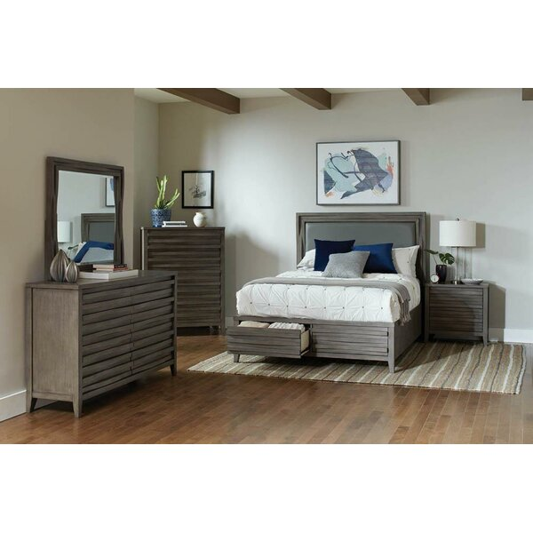 Wingard Platform Solid Wood Configurable Bedroom Set by Foundry Select