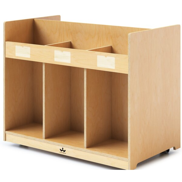 Yuri Mobile Library Standard Bookcase by Zoomie Kids