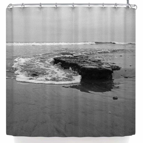 Nick Nareshni Beach Shore Reef Shower Curtain by East Urban Home
