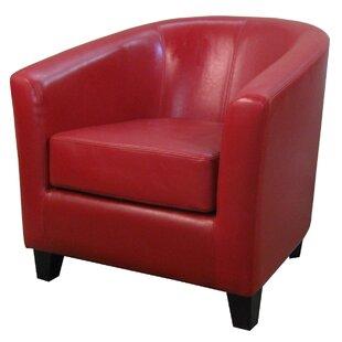 Best Reviews Teesha Barrel Chair ByOrren Ellis