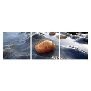 River Stream Rock 3 Piece Photographic Print Set by Furinno