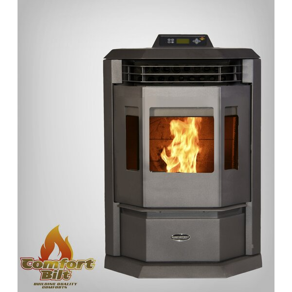2,800 Sq. Ft. Direct Vent Pellets Stove By ComfortBilt Pellet Stoves