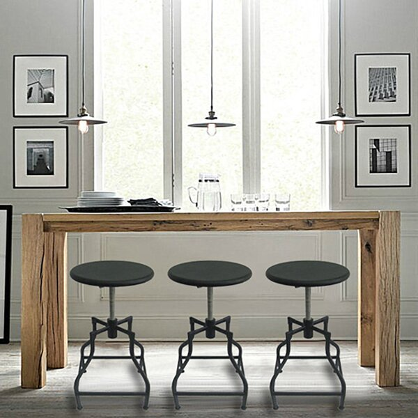 Bristol Adjustable Height Swivel Bar Stool (Set of 4) by Vandue Corporation