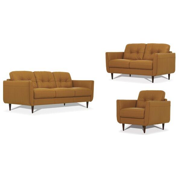 Chisholm 3 Piece Living Room Set By Corrigan Studio
